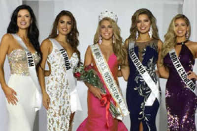 Kaitryana Leinbach crowned Miss US International 2016