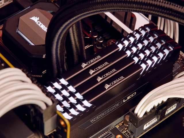 Corsair Vengeance LED DDR4 RAM launched