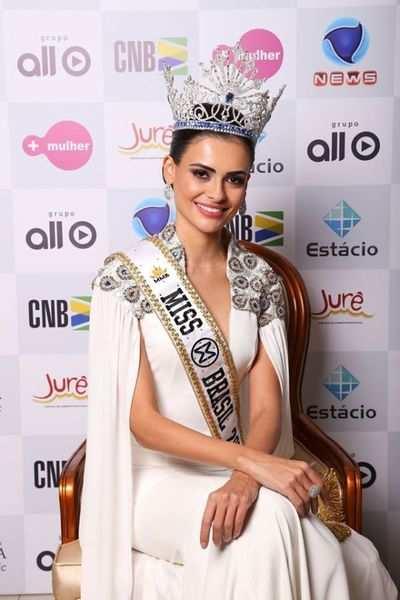 Beatrice Fontoura to represent Brazil at Miss World 2016
