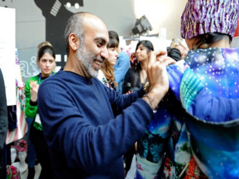 There's a reason why 'King of kitsch' Manish Arora stays away from Bollywood (Kristy Sparow/Getty Images)