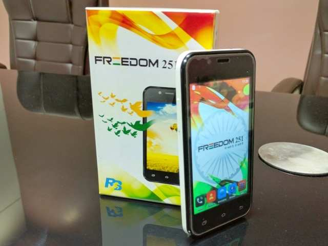 Freedom 251 first look: Better than the prototype