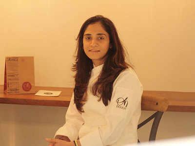 Chef Ritika Chawla at Oh Dough, Kala Ghoda