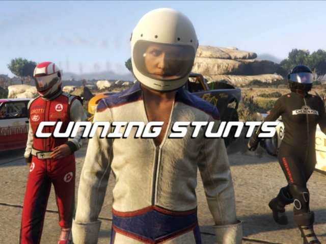 Rockstar reveals Cunning Stunts expansion for GTA Online