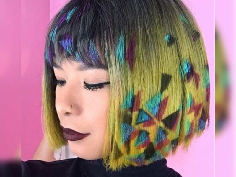 Have you tried the graffiti hair trend?