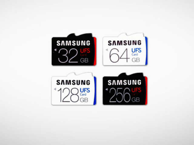 Samsung confirmed that UFS memory cards aren't supported by devices having traditional microSD card slots.