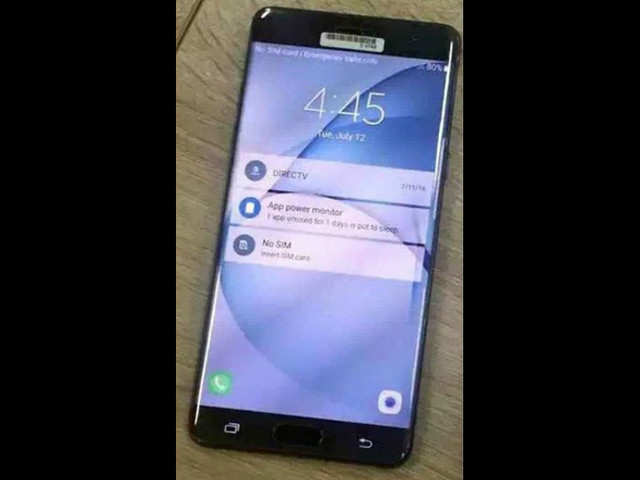 This is how the Samsung Galaxy Note 7 might look like
