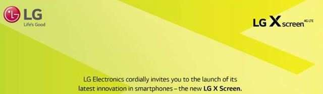 LG X Screen smartphone to launch in India