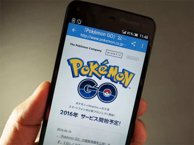 What is Pokemon Go? Find out all here
