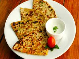 Garlic Paratha