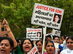 Protest against suicide of AAP activist