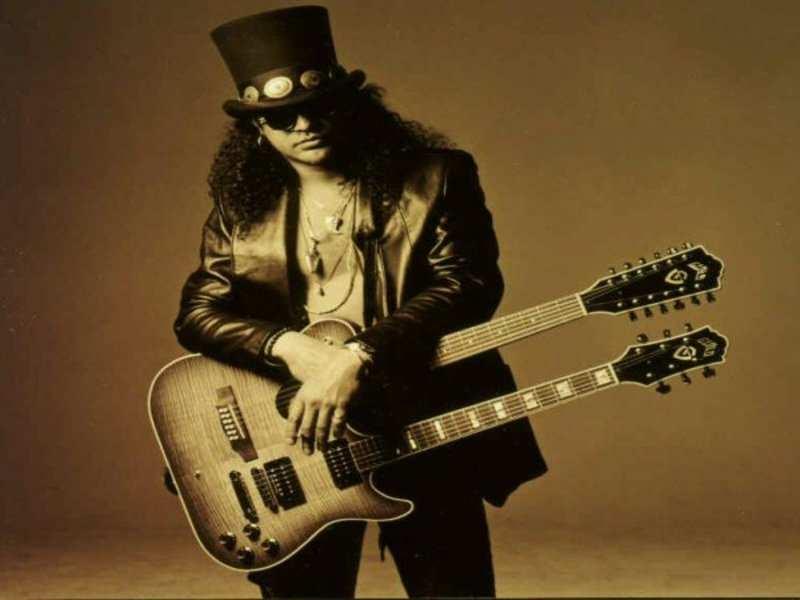 Musicians wish Slash on his birthday