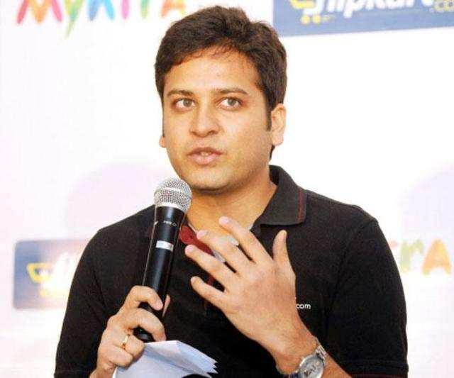 Flipkart CEO Binny Bansal