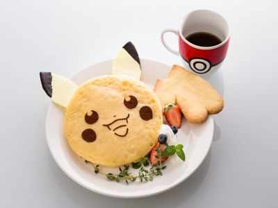 Now, there is Pokémon-themed food too