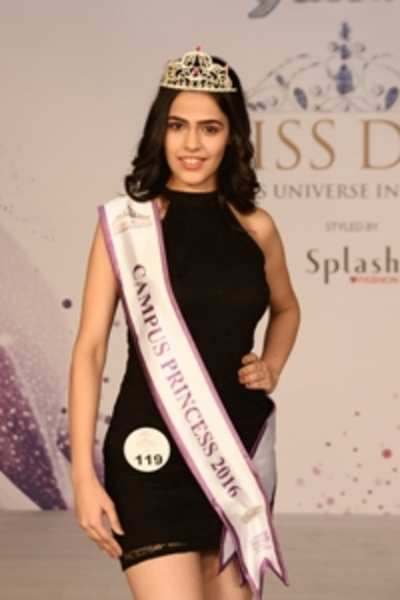 Ishita Sachdeva crowned Campus Princess 2016 season 2 winner