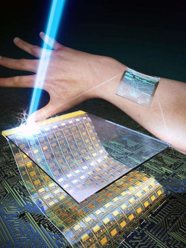 <p>Scientists have developed ultra-thin and transparent oxide thin-film transistors for a flexible wearable display. <br></p>