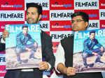 Varun unveils Filmfare cover