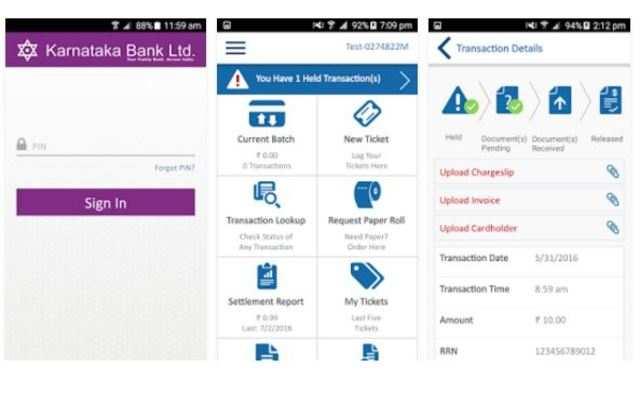Karnataka Bank launches mobile app for POS merchant establishments
