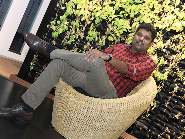At The Economic Times Startup Awards 2016, the Nandan Nilekani-led jury bats for cos displaying both solidity and ability to scale up, choosing winners in eight categories. In pic:  Girish Mathrubootham, Founder, Freshdesk.