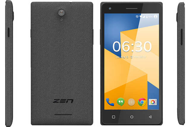 Zen Mobiles launches Cinemax 3 smartphone at Rs 5,499