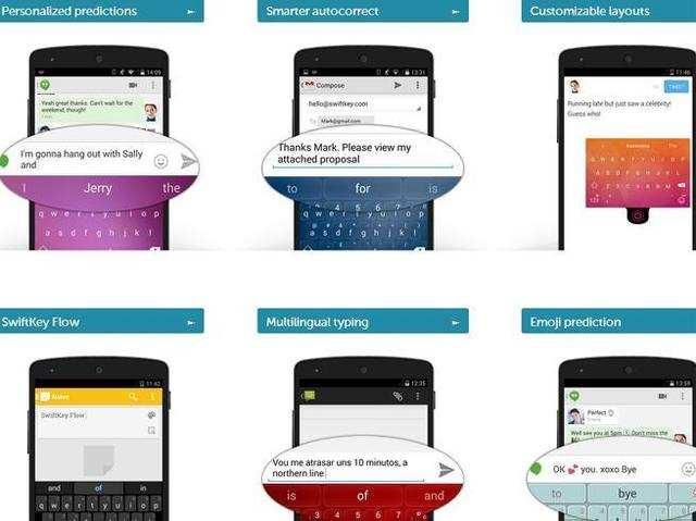 SwiftKey app for Android updated with cloud sync service