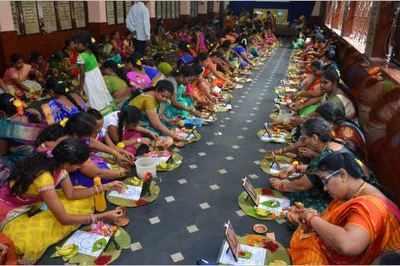 Women in north coastal AP observe Varalakshmi Vratam | Visakhapatnam