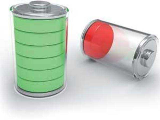 The battery has four times the capacity of current lithium ion batteries and degrades less over time.