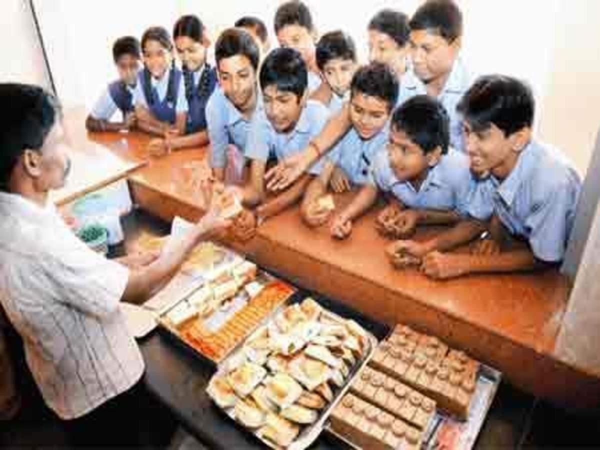 Healthy bites in school canteens   Kolkata News - Times of India