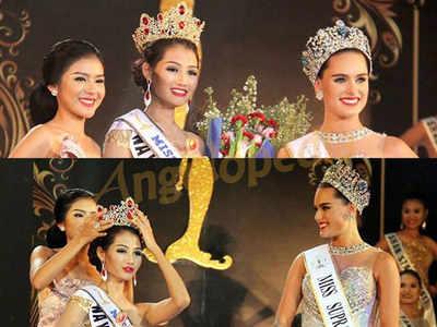 Swe Zin Htet crowned as Miss Supranational Myanmar 2016