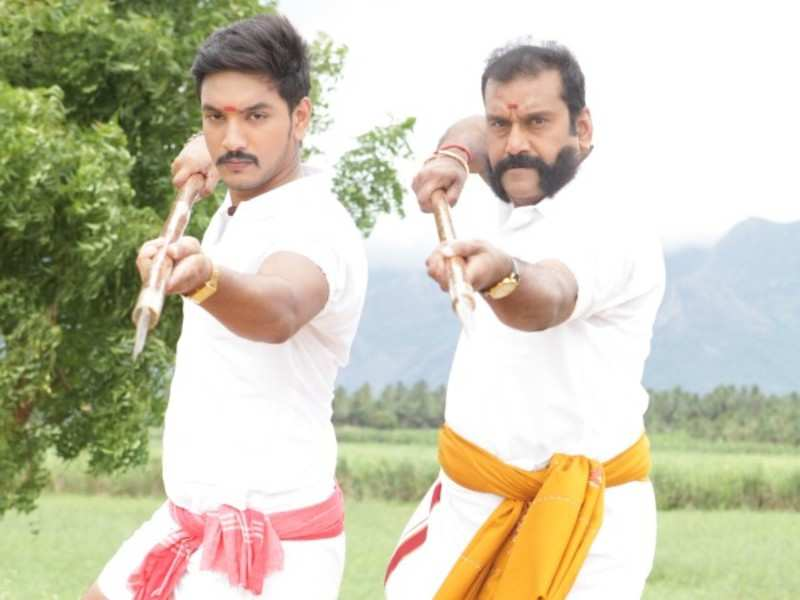 Silambam and sentiment are the focus of this film