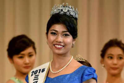 Priyanka Yoshikawa crowned Miss World Japan 2016