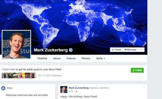 Facebook News Feed turns 10, CEO Mark Zuckerberg thanks users for making it a success