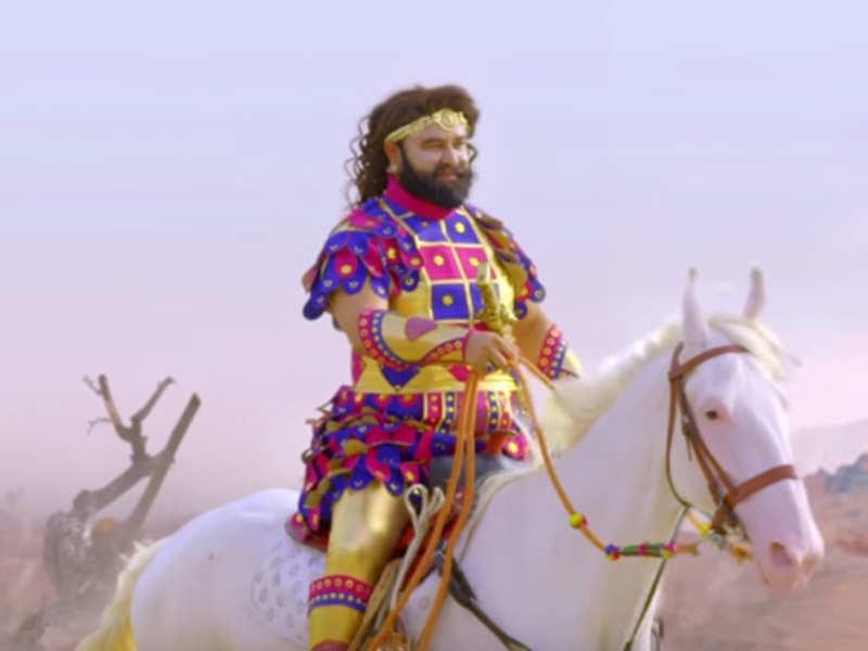 Watch: Gurmeet Ram Rahim Singh is back with 'MSG The Warrior'