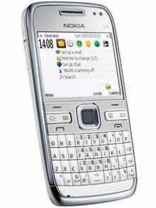 Nokia E72 White Edition - Price in India, Full
