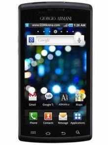 8073f777ca6 Samsung I9010 Galaxy S Giorgio Armani. Overview  Specifications
