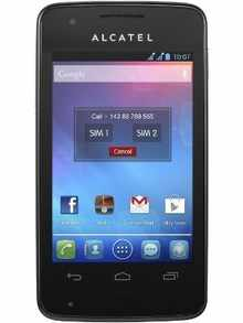 20c3a91bed6 Alcatel One Touch S Pop - Price in India, Full Specifications ...