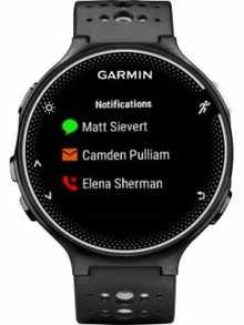 Garmin Forerunner 230 Smartwatches Price Full Specifications