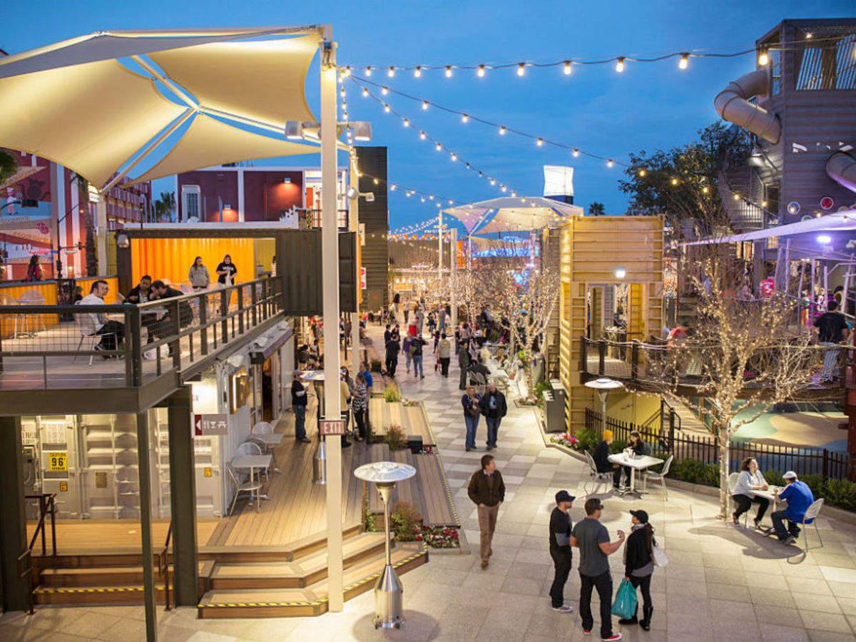Downtown Container Park - Las Vegas: Get the Detail of Downtown Container Park on Times of India Travel