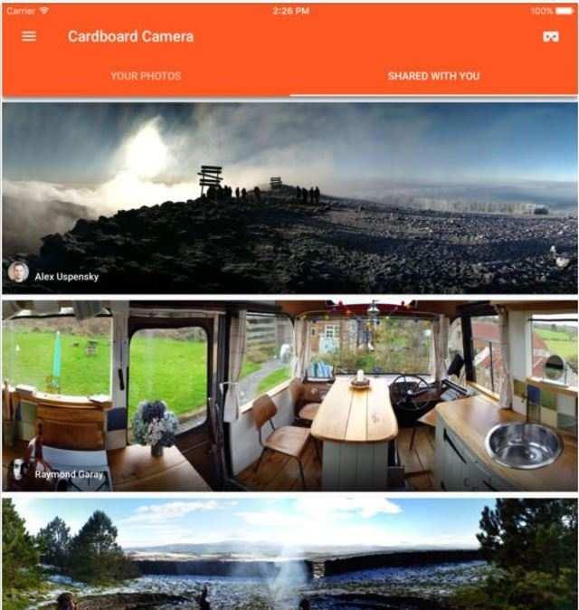 Google's VR Cardboard Camera app comes to iPhones