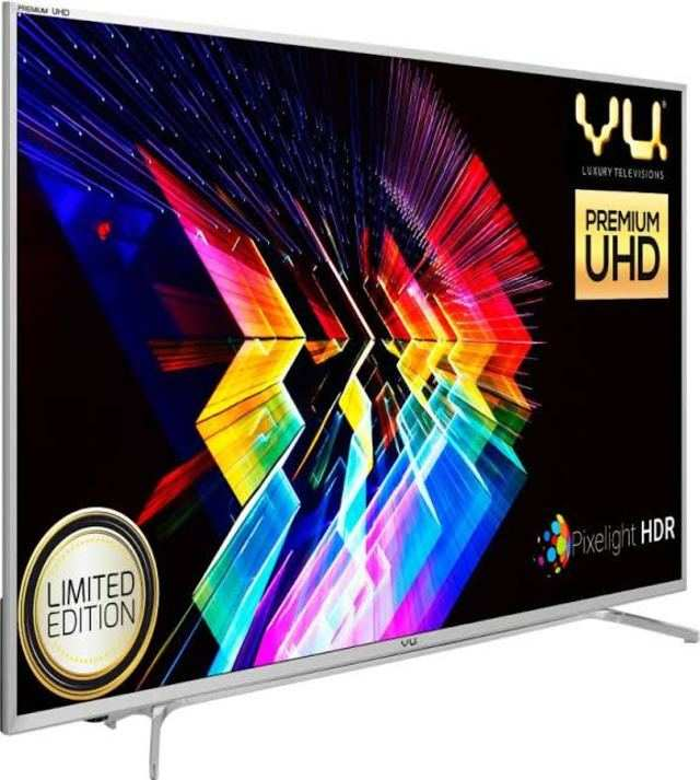 Vu launches premium range of UHD and Curved TVs