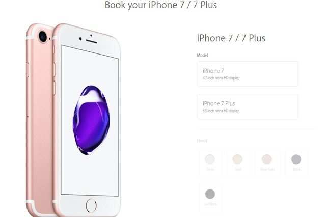 iPhone: Apple iPhone 7, iPhone 7 Plus available for pre ...