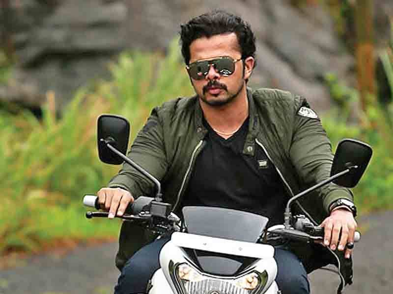 Sreesanth does his own bike stunts for multilingual