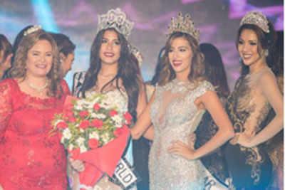 Nadine Ossama crowned Miss Egypt World 2016