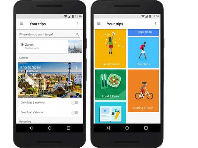 Google: Google's new travel app Trips can work without ...