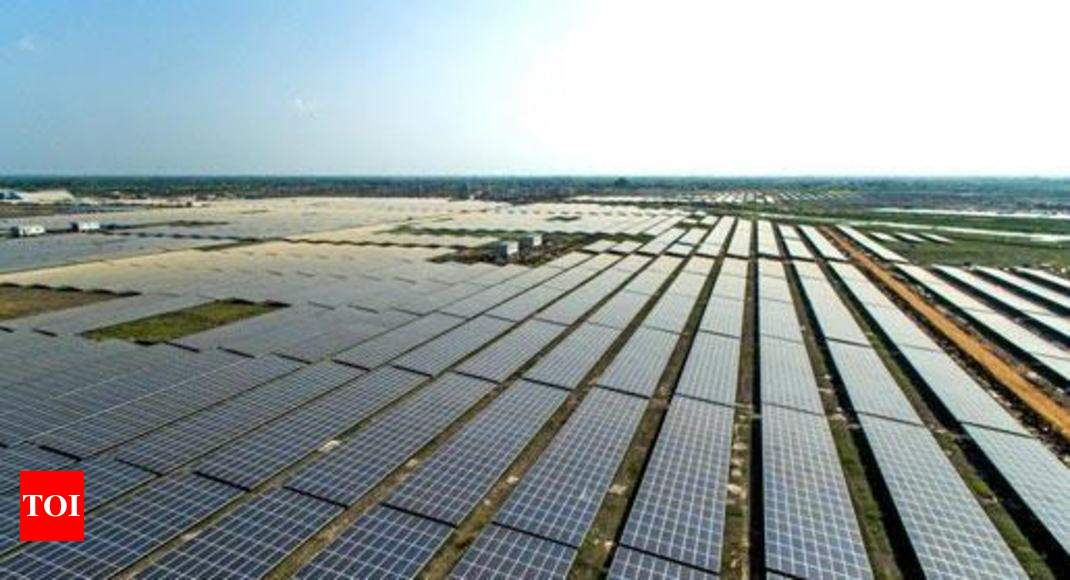 Adani Group Launches World S Largest Solar Power Plant In Tamil Nadu