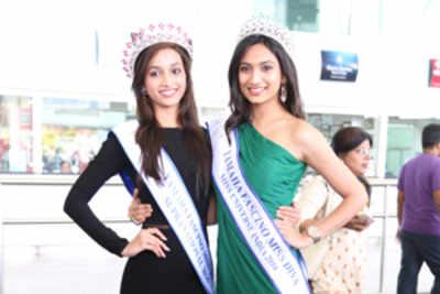 Miss Divas get a rousing welcome in Bengaluru