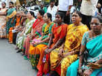Jayalalithaa in hospital, AIADMK workers pray