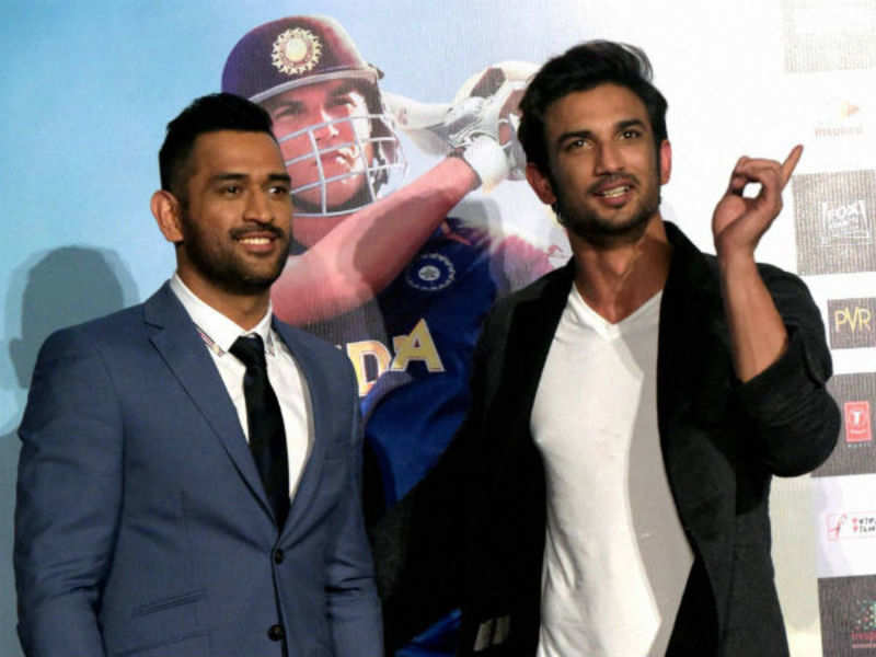 MS Dhoni Movie: Mahendra Singh Dhoni recommended Sushant Singh ...