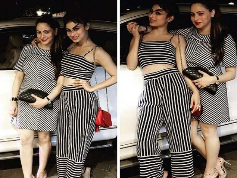 New mommy Aamna Sharif debuts on Instagram; bff Mouni Roy welcomes her