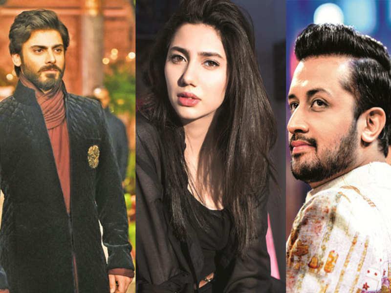 Fawad Khan, Mahira Khan and Atif Aslam