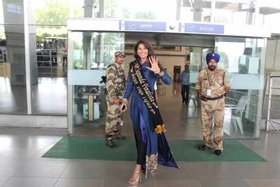 Lopamudra Raut comes home to a grand welcome